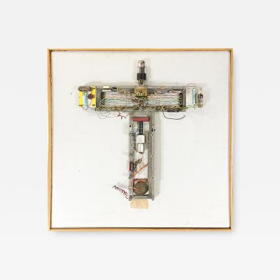Abstract Stations of The Cross Untitled 3 Vacuum Tube Wall Sculpture