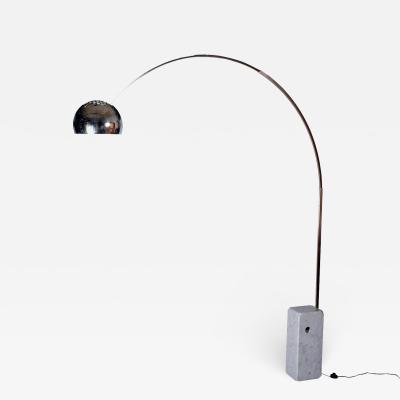Achille Castiglioni Arco Floor Light By Achille Castiglioni for Flos