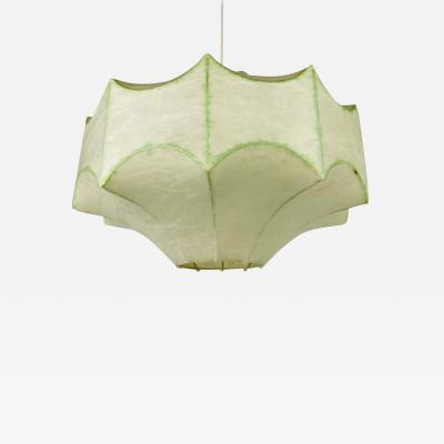 Achille Castiglioni Mid Century Cocoon Pendant Lamp by Achille Castiglioni 1960s Italy