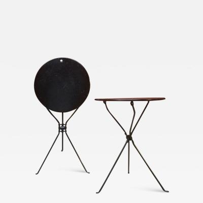 Achille Castiglioni Set of Cumano folding tables by Achille Castiglioni for Zanotta 1978