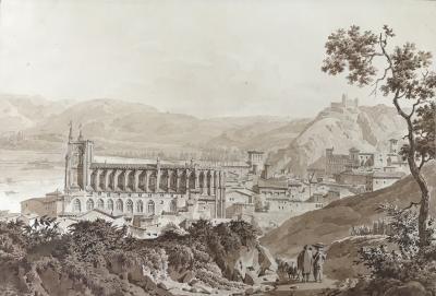 Achille Etna Michallon Basilica of Saint Cecilia Catheral Albi