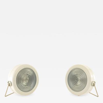 Achille Pier Giacomo Castiglioni A pair of Sciuko table lamps by Achille Pier Giacomo Castiglioni for Flos