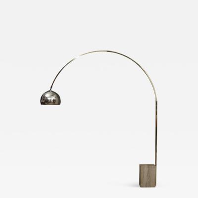 Achille Pier Giacomo Castiglioni CASTIGLIONI STYLE FLOOR ARC LAMP