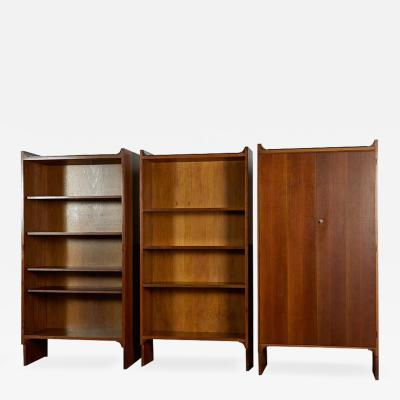Achille Pier Giacomo Castiglioni Set of Three Mariano Bookshelves by Castiglioni For Gavina