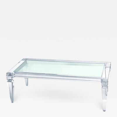 Acrylic Center Table Afrodite
