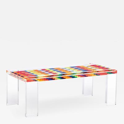 Acrylic Center Table Mosaico