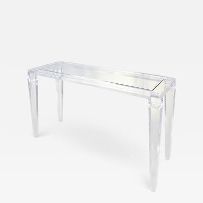 Acrylic Console Table Afrodite