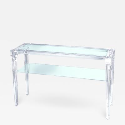 Acrylic Console Table Enea