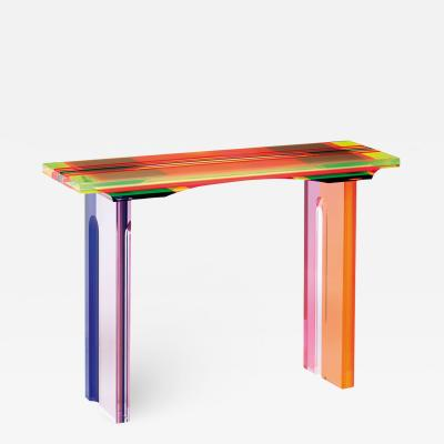 Acrylic Console Table Millerighe