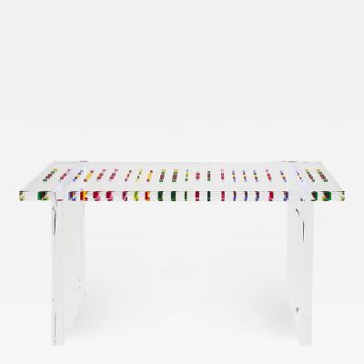 Acrylic Console Table Pixel