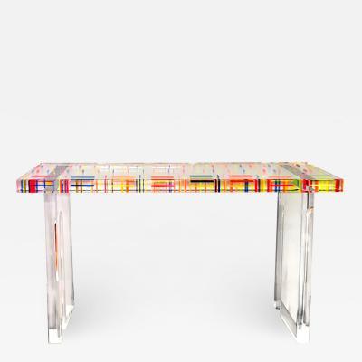 Acrylic Console Table Pixel II