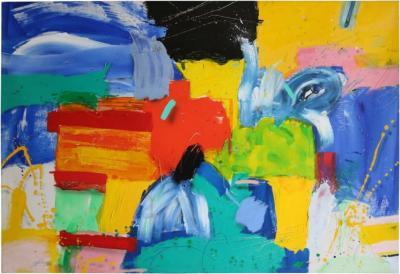 Acrylic on Canvas by Thomas Gathman 3