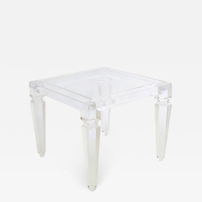 Acrylic side table Afrodite