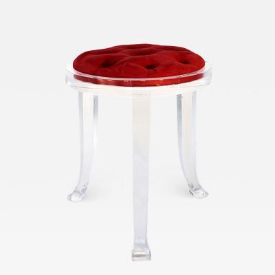 Acrylic stool Renessaince