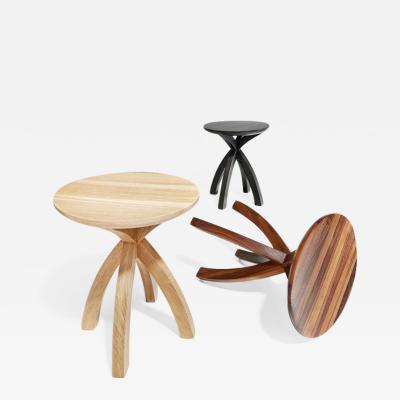Adam Zimmerman Side Table by Studio Craft Artist Adam Zimmerman 21st Century WHITE ASH