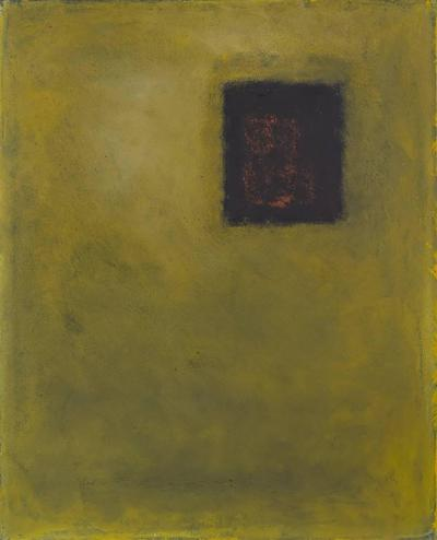 Adja Yunkers Adja Yunkers Painting Blind Man Sun USA 1982
