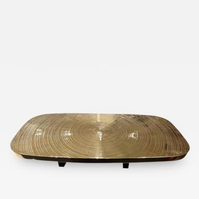 Ado Chale A Bronze Goutte deau Cocktail Table by Ado Chale