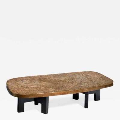 Ado Chale Ado Chale Les Mounts De Venus Bronze Coffee Table