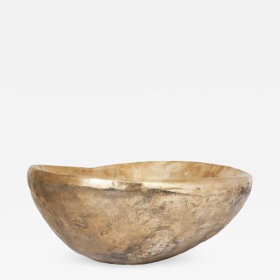 Ado Chale Large Cast Bronze Bowl