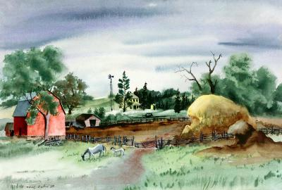 Adolf Arthur Dehn Minnesota Farm