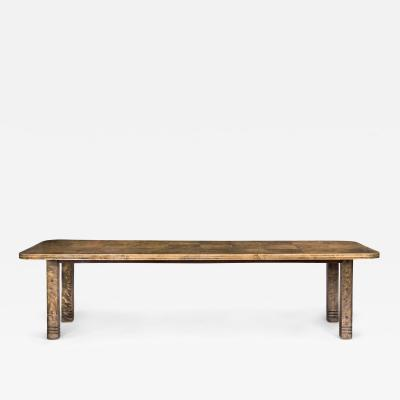 Adolf Erik Berglund A E Berglund Attributed Swedish Birch Dining Conference Table