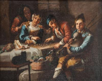 Adriaen Brouwer Dutch or Flemish Genre Painting