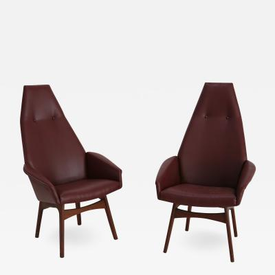 Adrian Pearsall 1950s adrian pearsall armchairs
