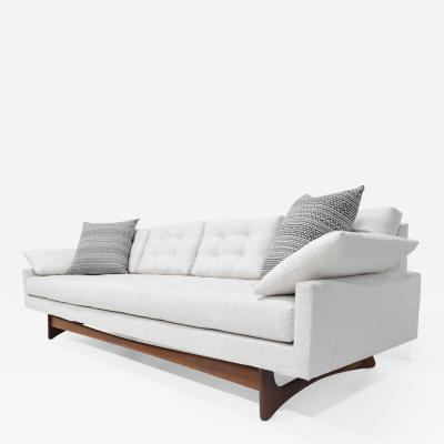 Adrian Pearsall Adrian Pearsall Gondola Sofa in Holly Hunt Outdoor Fabric in Nubby White