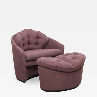 Adrian Pearsall Adrian Pearsall Lounge Chair and Ottoman