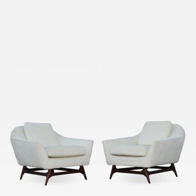 Adrian Pearsall Adrian Pearsall Mid Century Modern Lounge Chairs