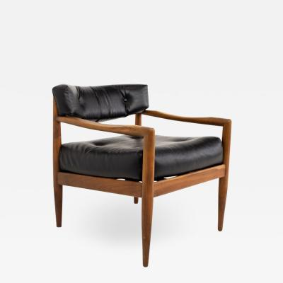 Adrian Pearsall Adrian Pearsall Mid Century Walnut Occasional Lounge Chair