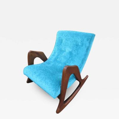Adrian Pearsall Adrian Pearsall Sculptural Rocking Chair for Craft Associates Mid Century Modern