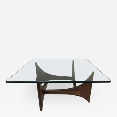 Adrian Pearsall Adrian Pearsall Sculptural Walnut Coffee Table