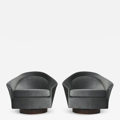Adrian Pearsall Adrian Pearsall Swivel Chairs