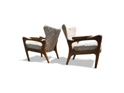 Adrian Pearsall Adrian Pearsall for Craft Associates Lounge Chairs