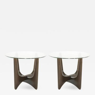Adrian Pearsall Adrian Pearsall for Craft Associates Walnut End Tables