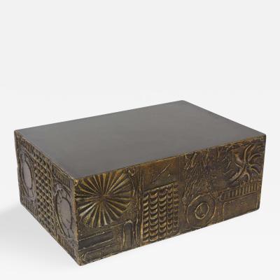 Adrian Pearsall American Modern Custom Brutalist Coffee Table by Adrian Pearsall