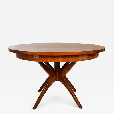 Adrian Pearsall An American Modern Mahogany Extension Dining Table Adrian Pearsall