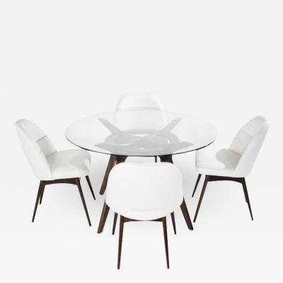 Adrian Pearsall Dining Set by Adrian Pearsall for Craft Associates 1950s