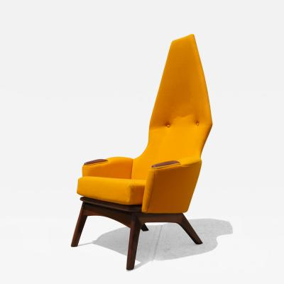 Adrian Pearsall High Backed 2056 C Armchair by Adrian Pearsall for Craft Associates