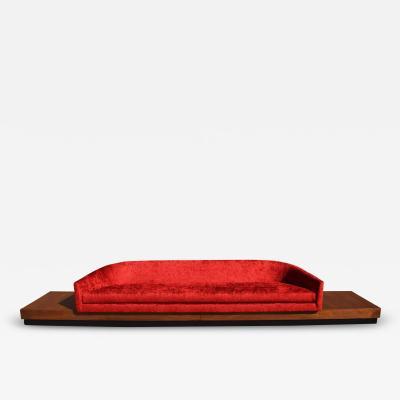 Adrian Pearsall Large Adrian Pearsall Platform Sofa