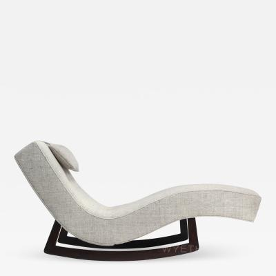 Adrian Pearsall Low Rocking Chaise by Adrian Pearsall