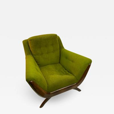 Adrian Pearsall MID CENTURY ARMCHAIR BY ADRIAN PEARSALL