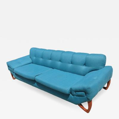 Adrian Pearsall Mid Century Modern Sofa in the Manner of Adrian Pearsall