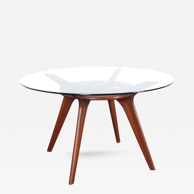 Adrian Pearsall Mid Century Walnut Dining Table by Adrian Pearsall