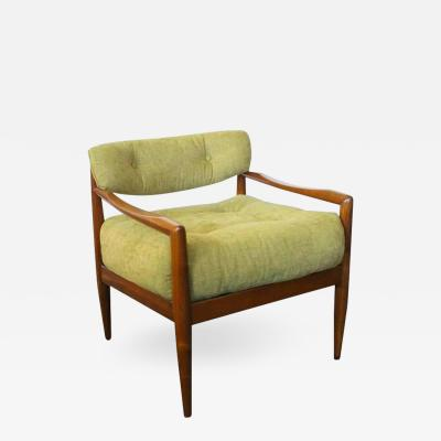 Adrian Pearsall Newly Upholstered Lounge Chair by Adrian Pearsall
