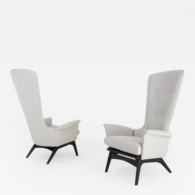 Adrian Pearsall PAIR OF ARMCHAIRS BY ADRIAN PEARSALL 1960