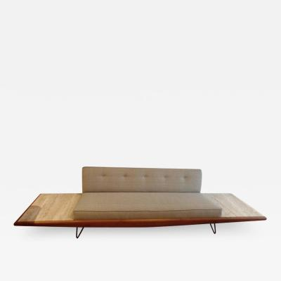 Adrian Pearsall Rare Adrian Pearsall Sofa with End Tables Displayed at Habitat 67 Expo 67