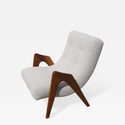 Adrian Pearsall Sculptural Lounge Chair by Adrian Pearsall for Craft Associates