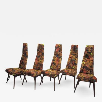 Adrian Pearsall Set of Five Adrian Pearsall Dining Chairs